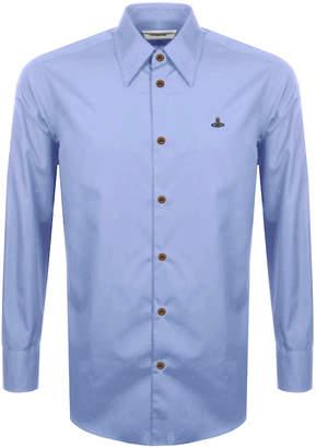 Vivienne Westwood Poplin Classic Shirt Blue