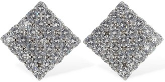 FEDERICA TOSI Victoria Crystal Clip-on Earrings
