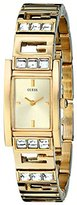 GUESS Women's U0200L2 G-Iconic Sophistication Crystal Gold-Tone Watch