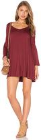 Rachel Pally Flutter Sleeve Mini Dress