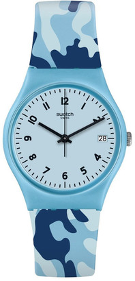 Swatch Camoublue Watch