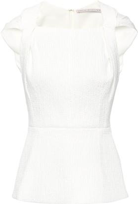 Emilia Wickstead Cotton-blend Seersucker Top