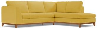 Apt2B Mulholland 2pc Sectional Sofa RAF in GOLD