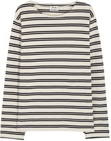Acne Studios Nimes Striped Cotton Top
