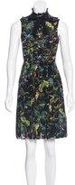 Gucci Sleeveless Tropical Print Dress