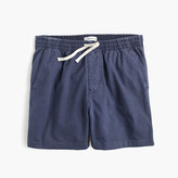 J.Crew Knit dock short in garment-dyed cotton