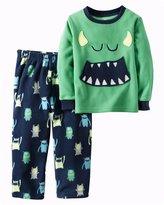 Carter's Monster Print PJ Set (Toddler/Kid) - Print - 2T