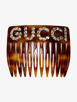 Gucci crystal hair comb