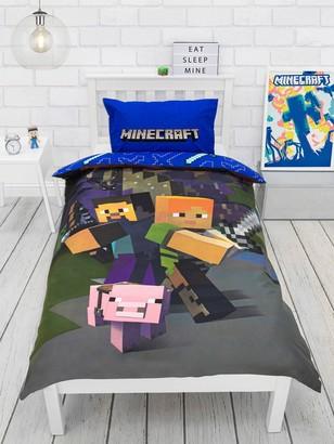 Minecraft Good Guys Duvet Cover Set