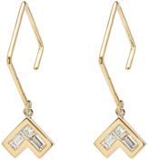Azlee Cosmic Small Diamond Earrings