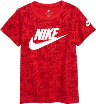 Nike Toss Logo Graphic Tee
