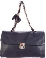 Lanvin Dual Flap Shoulder Bag
