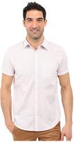 Calvin Klein Classic Fit Tonal Micro Grid Short Sleeve Shirt