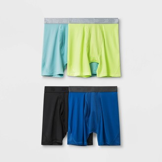 Boy' 4pk Meh Boxer Brief - All in MotionTM