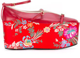 Gucci ballet flat with removable platform - women - Leather - 36