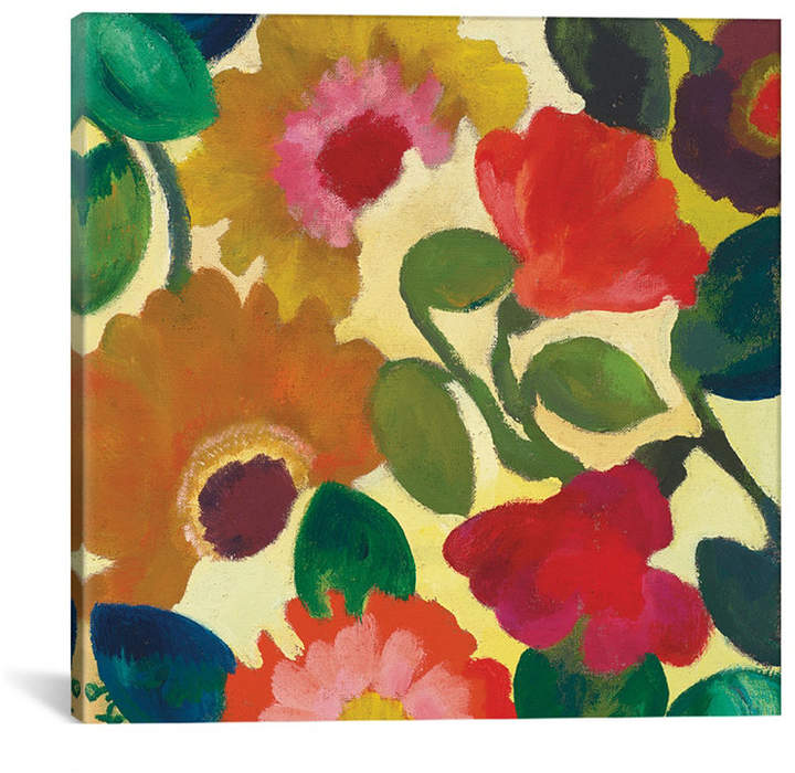 "iCanvas Ranunculus I"" By Kim Parker Gallery-Wrapped Canvas Print - 37"" x 37"" x 0.75"""