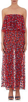 Osman Women's Floral Tulle Dress