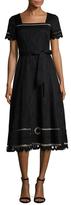 Temperley London Bellanca Embroidered A Line Dress