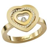 Chopard Happy Spirit yellow gold ring