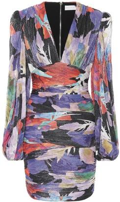 Rebecca Vallance Belladonna printed minidress