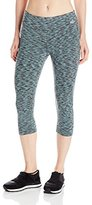 Spalding Women's Strobe Space-Dyed Capri Legging