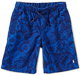 Ralph Lauren Big Boys 8-20 Tropical-Printed Pull-On Shorts