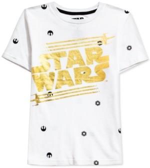 Star Wars Toddler Boys Metallic Logo T-Shirt