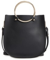BP Metal Ring Crossbody Bag - Black