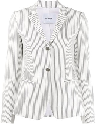 Dondup Striped Single-Breasted Blazer