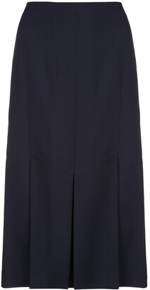 Jason Wu Pleated Midi Skirt