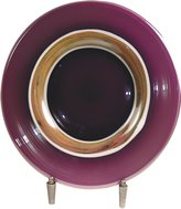 Dale Tiffany Lamps AG500284 Melrose Decorative Charger Plate with Stand