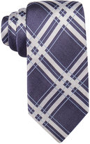 Ryan Seacrest Distinction Men's Bedford Slim Grid Tie, Only at Macy's