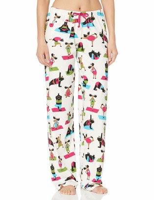 Hatley Little Blue House By Women's Jersey Pant-Yoga Bear