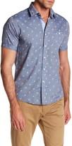 Heritage Palm Spot Print Slim Fit Sport Shirt