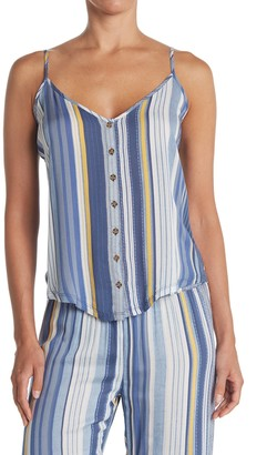 PJ Salvage Stripe Print Cami Pajama Top