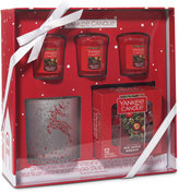 Yankee Candle Reindeer Votive Holder Gift Set