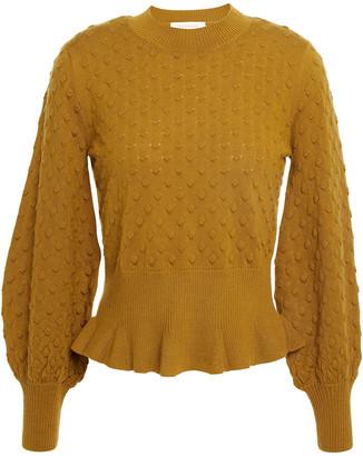 Zimmermann Merino Wool Peplum Sweater