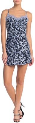 re:named apparel Neha Leopard Print Dress