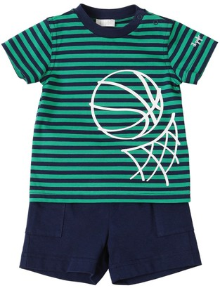 Il Gufo Cotton Jersey T-Shirt & Shorts