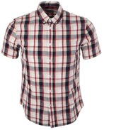 Edwin Short Sleeved Standard Check Shirt Red