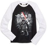 Star Wars Boys' Long-Sleeve Vadar Graphic-Print T-Shirt