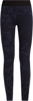The Upside Seals camouflage-print performance leggings
