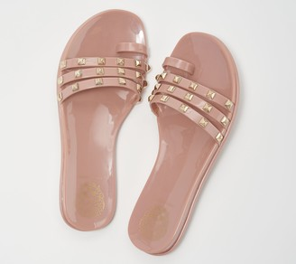Vince Camuto Studded Jelly Sandals - Elishenta