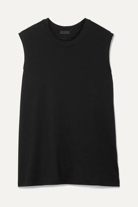 ATM Anthony Thomas Melillo Boy Cotton-jersey Tank - Black