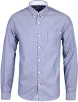Timberland Chambray Blue Long Sleeve Oxford Shirt