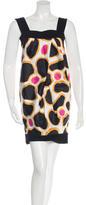 Diane von Furstenberg Sleeveless Dotted Dress w/ Tags