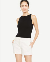 Ann Taylor Pearlized Button City Shorts