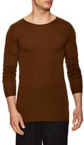 Rick Owens Wool Crewneck Sweater