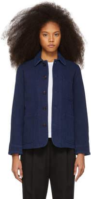 Blue Blue Japan Indigo Sashiko Coverall Jacket