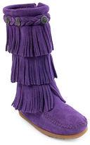 Minnetonka Three Layer Fringe Boots